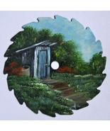 Collectible Mini Summer Round Painted Sawblade ... - $18.75