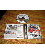 NASCAR Thunder 2002  (PlayStation, 2001) - $9.40
