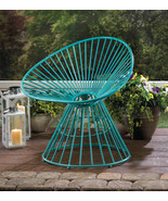 Patio Lounge Chair Teal Blue - $125.00