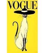 Vogue Cat Ad Magnet - $7.99
