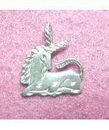 Unicorn charm for pendant or charm bracelet - $7.00