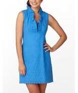 2012 NEW Lilly Pulitzer Adeline Evelet Dress bl... - $128.00