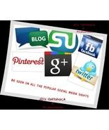 I'll Promote 6 items for 90 days on Social Medi... - $56.00