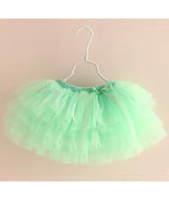 Toddler Girls Mint Green Tutu Skirt. Princess S... - $38.00