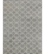 ADC Rugs Moroccan Scroll Tile Handamde Wool Are... - $509.00