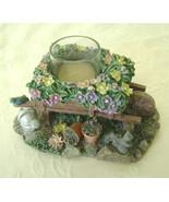 Garden Flower Cart, Tea Lite Holder, Spoontique... - $11.00