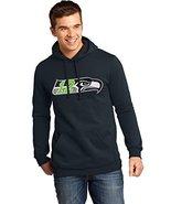 Seahawks Football Navy Hoody- 12th Man Logo (3x... - $39.15