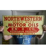 Vintage Sign Northwest Heavy Duty Motor Oils Em... - $558.84