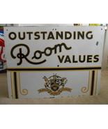 Vintage Sign Mayfair Hotels Lennox St Louis