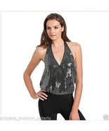 New Womens GUESS by Marciano Drape Top Cleavage... - $44.10