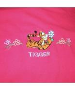 Tigger T-Shirt Tee Shirt Adult L/G Large Grande - $5.00