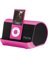 iHome iHM10P Portable MP3 Player Stereo Speaker... - $24.95