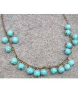 Handmade LOVELY TURQUOISE NECKLACE - $12.99