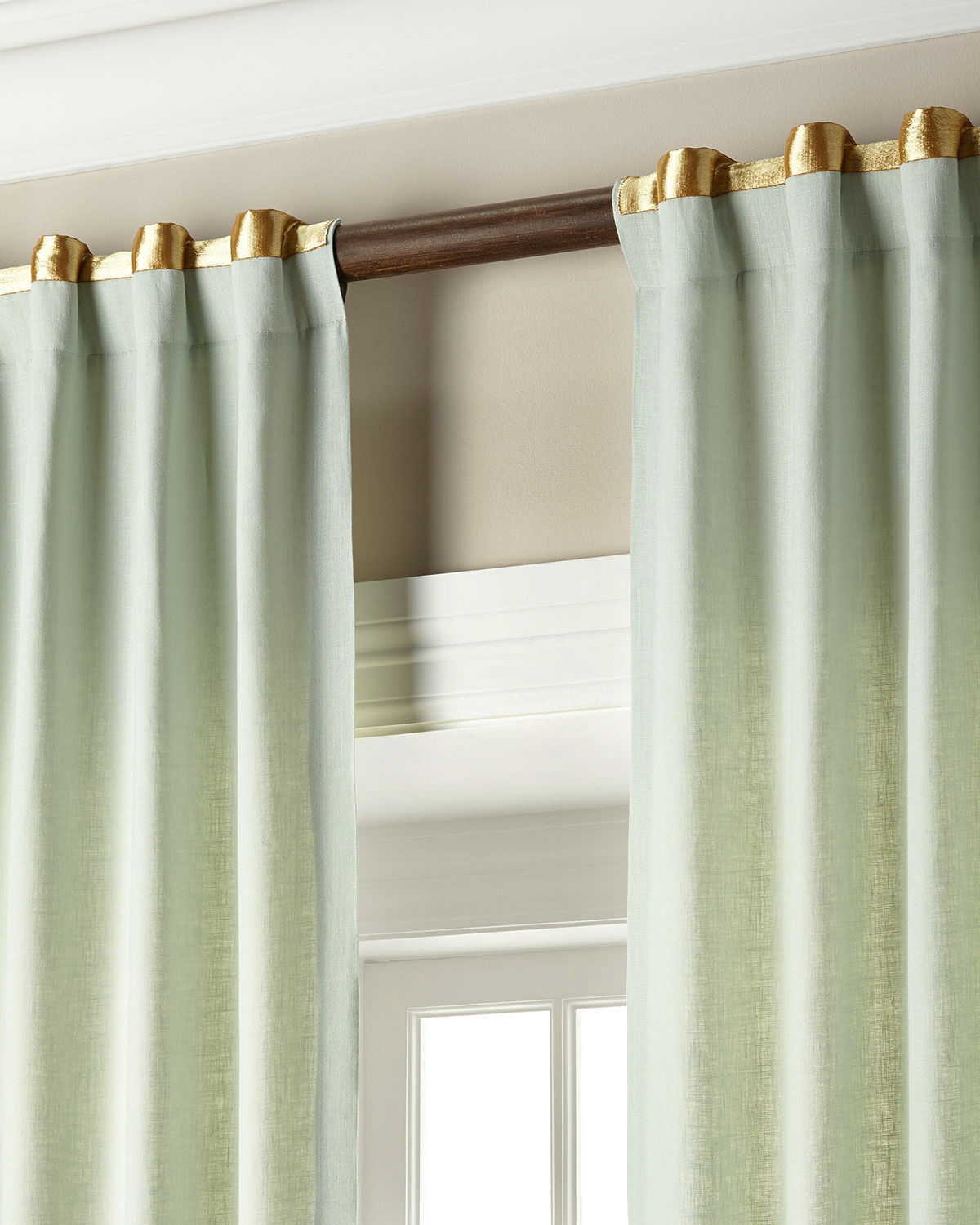 Red And Blue Curtain Panels 72 Inch Rod Pocket Curtains