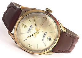 Vintage Benrus 3 Star 39 Jewels Gold Electropla... - $143.55