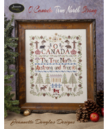 O Canada True North Strong cross stitch chart J... - $21.60