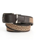 COACH MEN'S REVERSIBLE SIGNATURE LEATHER BELT K... - $98.00