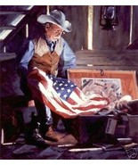 Colors of Courage by Bruce Greene Canvas Giclee... - $490.05