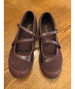 NWT 7.5 M Women Leather Shoes Bikers Step Up Ma... - $49.49