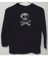 Boys Halloween Black Long Sleeve T Shirt Size S... - $4.00