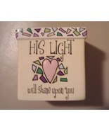 Ceramic Religious Votive Holder -