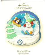 Hallmark Keepsake Ornament Downhill Fun Spin-A-... - $9.99