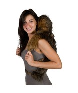 Star Wars Plush Brown Chewbacca Backpack Buddy,... - $58.99