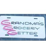 novelty license plate Grandma's Grocery Getter - $4.00