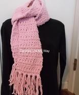 Scarf crocheted handmade  - $14.00