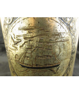 Paint By Numbers Brass Garbage Can Wastepaper B... - $20.00