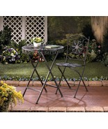 Patio Table and Chair Fleur-de-Lis  - $134.00