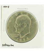 1972-D Eisenhower Dollar RATING: (VF) Very Fine... - $2.00