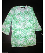New Womens INC International Concepts 12 Embroi... - $52.50