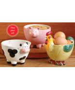 Country Farmhouse Animal Bowls - $21.95