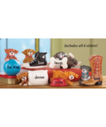 Puppies Sitters Set Of 6 - $24.95
