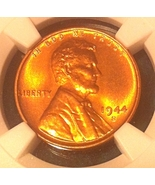 1944 S Lincoln Wheat Cent - NGC MS66 RD - Scarc... - $32.99