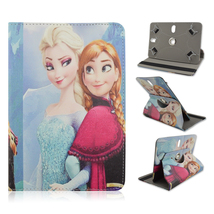New Snow Queen Rotary Leather Case Cover For 10... - $16.99