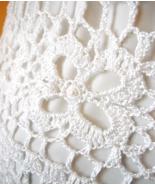 Boutique Spaghetti Strap White Layered Crochet ... - $45.00