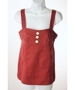 Marc by Marc Jacobs Rust Colored Cotton Tank Top 2 - $28.95