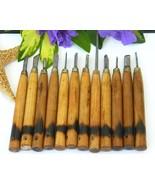 Vintage Wood Working Carving Tools Chisels Goug... - $14.95