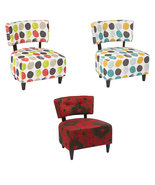 Ave Six Boulevard Armless Fabric Accent Living ... - $189.99