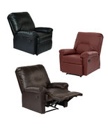 Eco Leather Kensington Recliner Living room Lou... - $289.99
