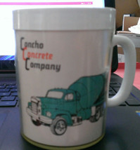 Great Concho Concrete Company Coffee Cup Must See - $9.90