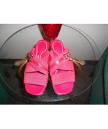 Red Airstep slides size 5W - $5.94