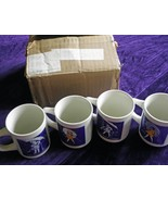 Vintage Morton Salt Ceramic Coffee Cup/Mug set - $200.00