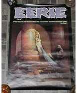 Eerie #23 Monster Magazine Poster 1970s - £15.71 GBP