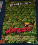 Tim Burton Mars Attacks Poster Martians New - £17.43 GBP