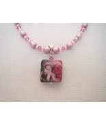 Breast Cancer Awareness Ribbon Pendant Necklace... - $29.99