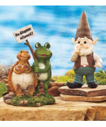 No Gnomes Allowed Statue Set - $19.95