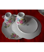 TWO (2) Royal Vale Cup and plate SETS-  Roses -... - $17.99